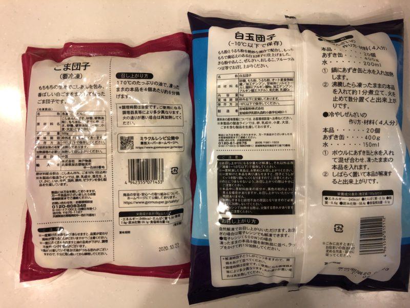 アレルギー患者さんはパッケージ裏の原材料表示を見て、食べられるかどうか自分で判断をする